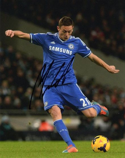 Nemanja Matic, Chelsea, Serbia, signed 10x8 inch photo.